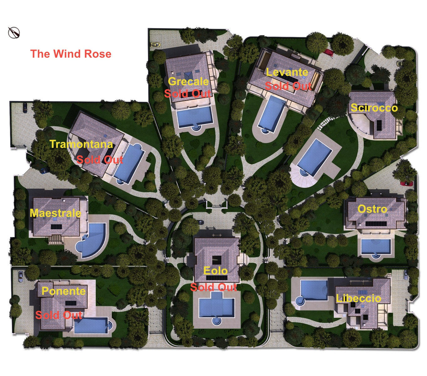 Villas sale Forte dei Marmi Vittoria Apuana Tuscany properties