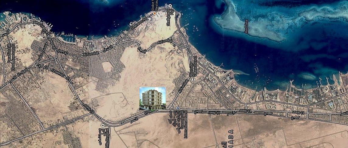 Vendita appartamenti Hurghada - posizione
