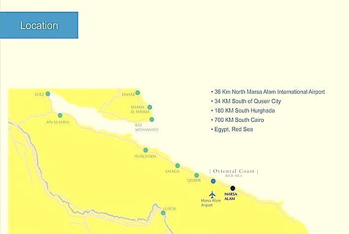 Posizione Las Cabanas Oriental Coast