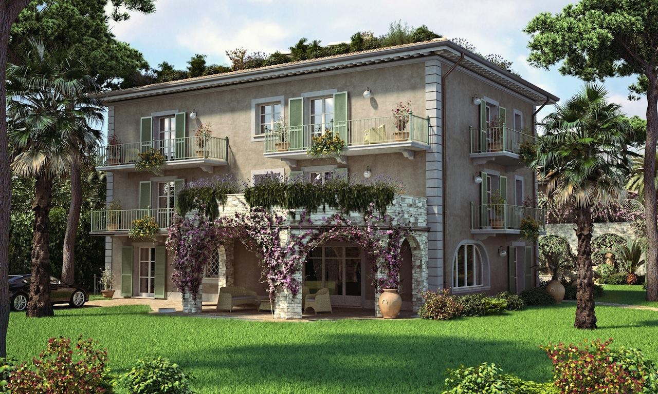 Casa clima forte dei marmi vendita prestigiosa villa for Casa la villa