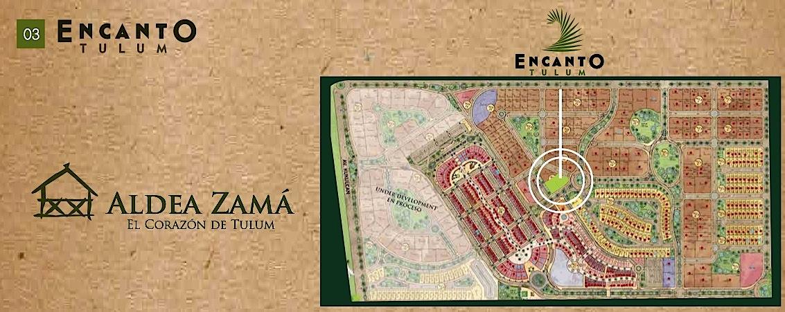 Encanto Tulum Posizione Aldea Zama