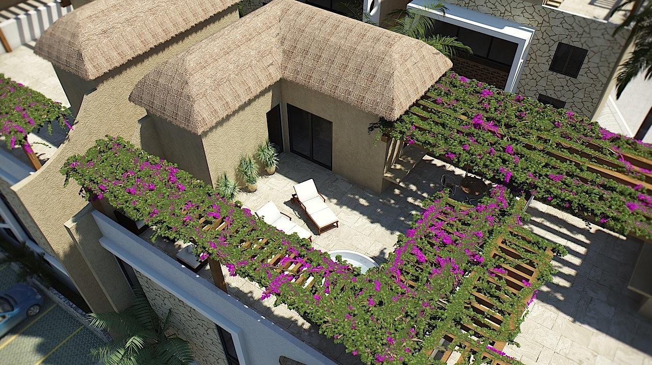Roof Interni appartamento Encanto Tulum