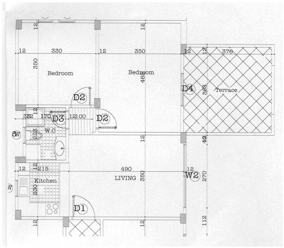Marsa Alam Oriental Coast vendita appartamento pronta consegna Planimetria