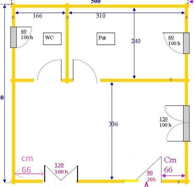 pianta Massa Carrara vendita casa in legno nuova