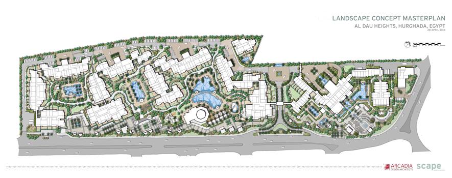 Al Dau Heights_Masterplan