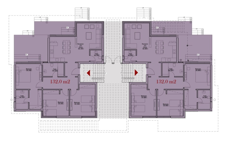 Matangi-Oriental-Coast-Twin Villas - 3 Bedrooms-plan