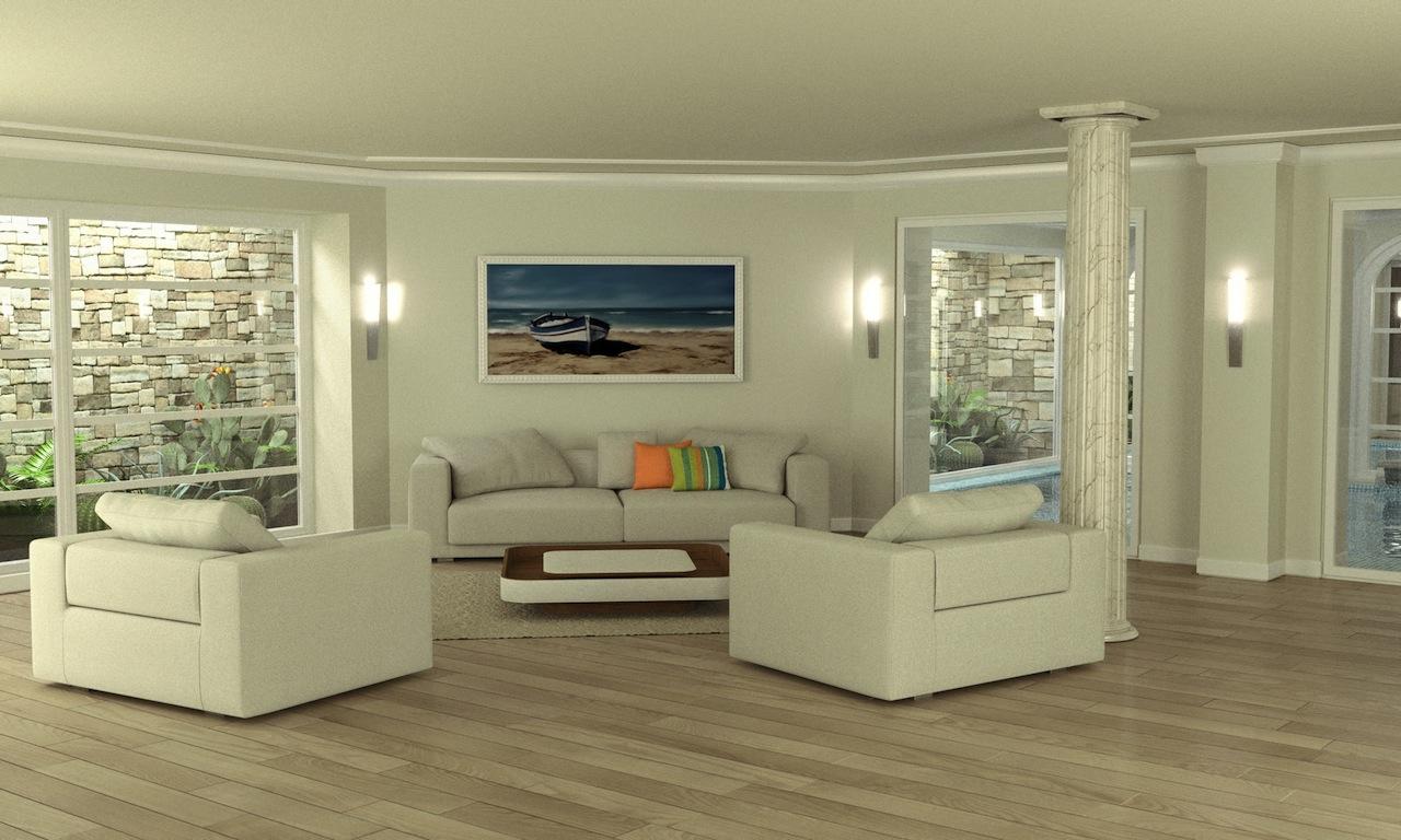 Forte dei Marmi vendita villa salotto
