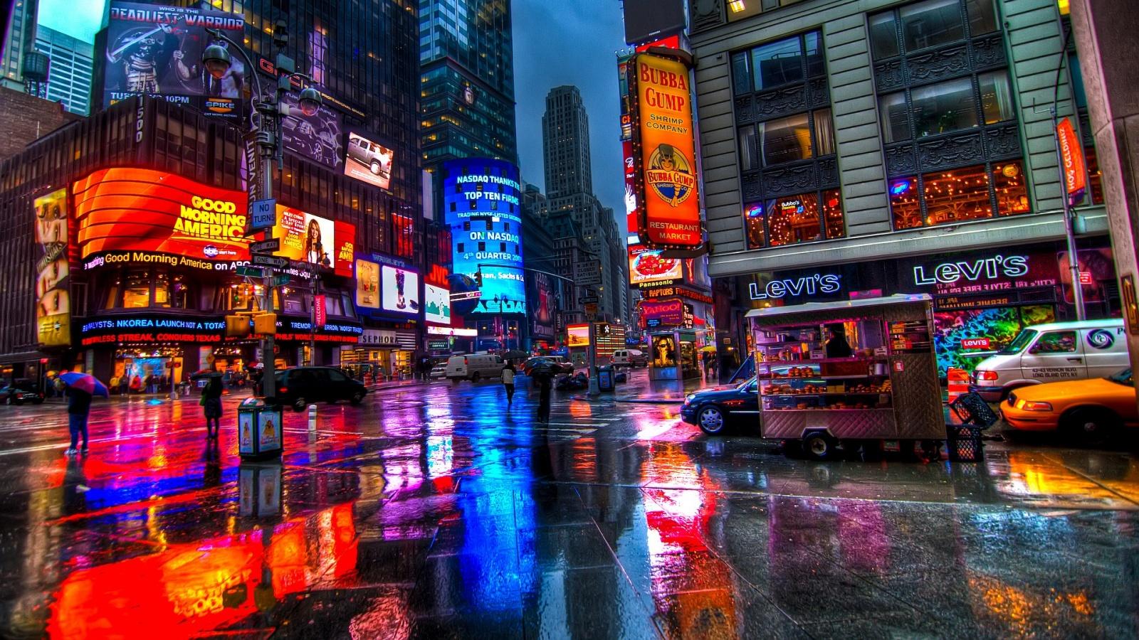 Visitare new york-Time-Square