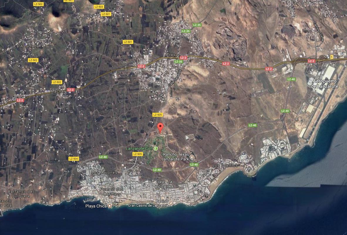 Villa Lanzarote Golf - posizione
