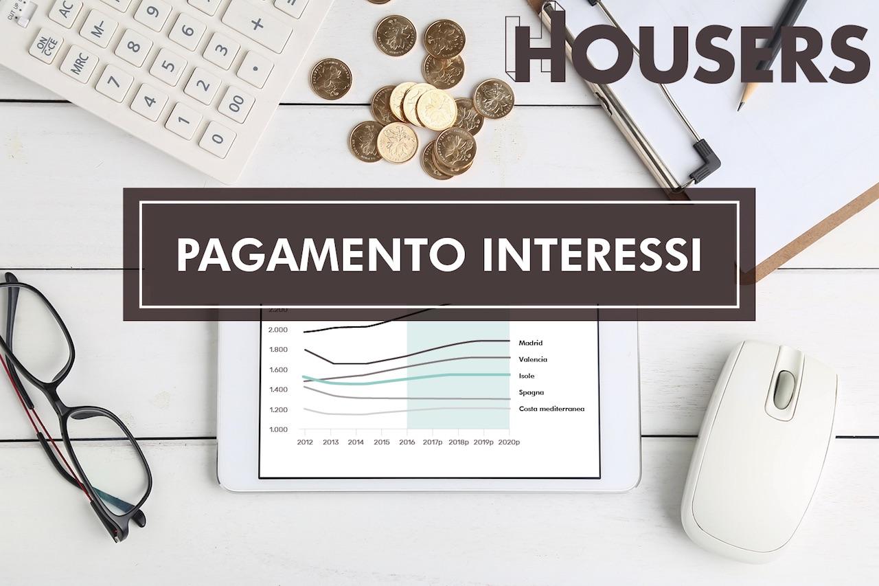 Housers pagamento Interessi