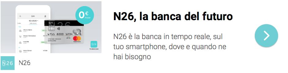N26 - la banca del futuro