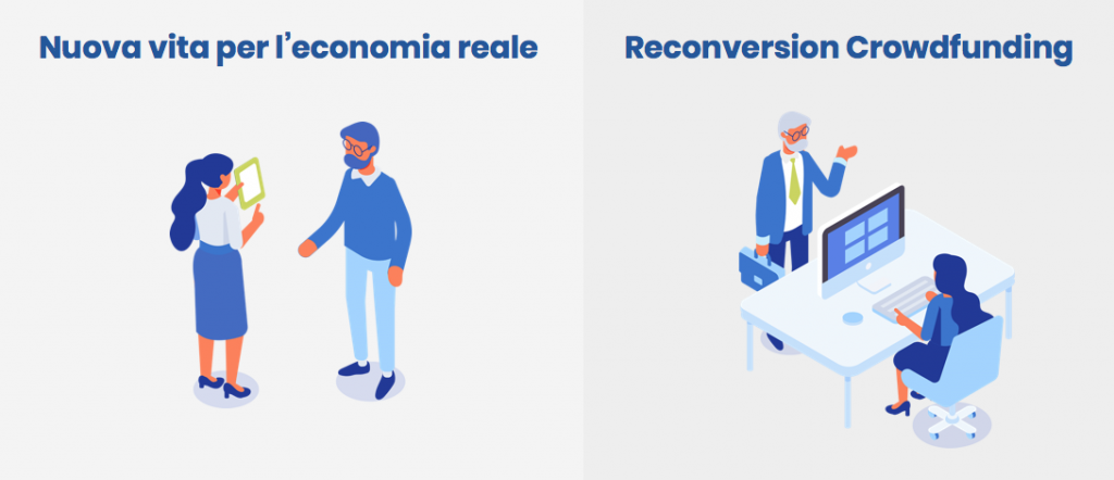 ReLender - Reconversion Crowdfunding