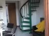 soggiorno n.5 con scala a chiocciola
