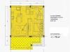 Al Dau Heights plan B - 1 Bed Room