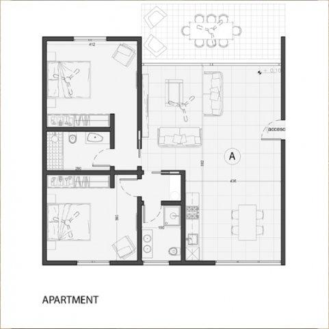 Vendita appartamenti tulum appartamenti encanto aldea zama for Planimetrie 5 camere da letto