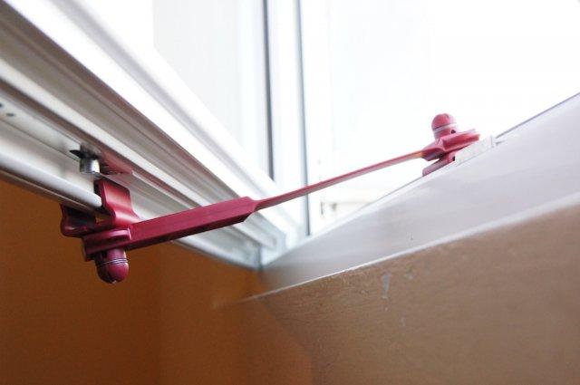 Ferma finestre clickcomp blocca porte e finestre - Blocca finestra aperta ...