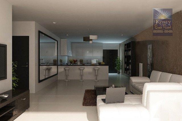 Vendita appartamenti hurghada kenzy beach resort for Appartamenti con planimetrie